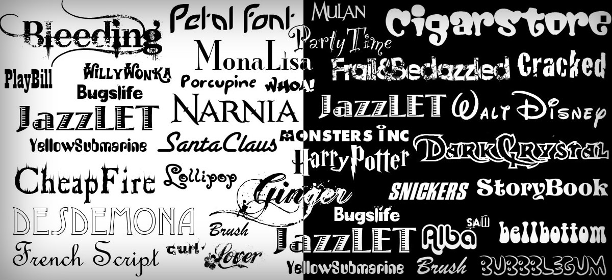 fonts in graphic design